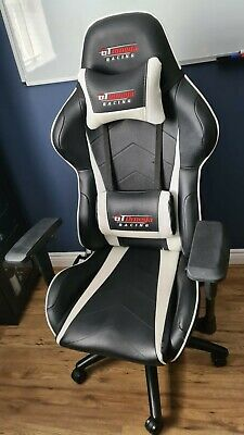 GT Omega Pro Racing Office Chair - Black