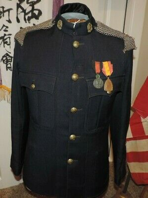 1904 Canadian Legion of Frontiersmen Coat LF Yorks w/ attachment medals tabs ect
