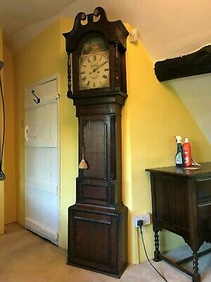 Beautiful Grandfather / Longcase Chiming Clock