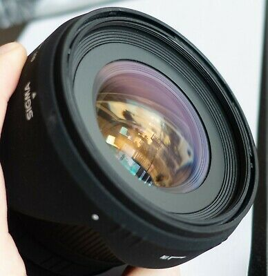 Sigma 24mm f/1.8 EX DG Aspherical Macro Prime Lens For Minolta/Sony A-Mount