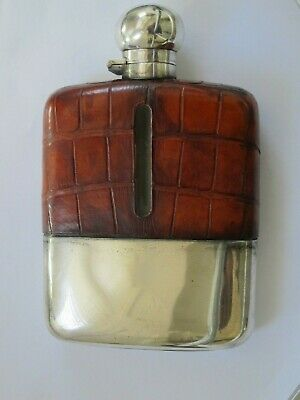 Silver Hip Flask - Hallmarked - Lovely Condition
