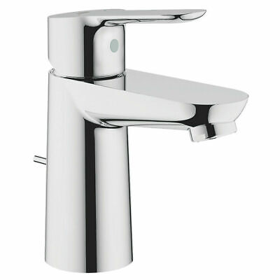 💙 GROHE® Start Edge Mixer Tap Chrome + Pop-Up Waste