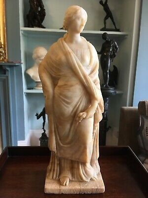 Antique grand tour marble figure 18/19th century - large and fine quality