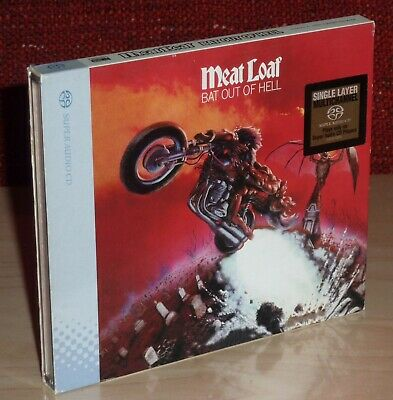 Meat Loaf -- Bat Out Of Hell -- Sacd 5.1 Surround & Stereo Super Audio Cd