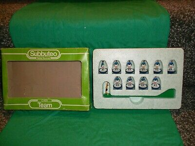 Subbuteo L/W Team. Italy , Israel, Iceland Ref 166 In  Good  Condition