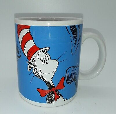 Dr. Seuss The Cat In The Hat Coffee Mug I Like Nonsense  It  Wakes Up Brain Cell