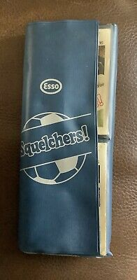 Esso Squelchers - Full Set of 16 in wallet.