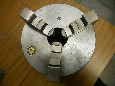 "6"" Bison 3 Jaw Lathe Chuck With 2-1/4- Thread Mount"