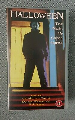 halloween vhs the night he came home (B1)
