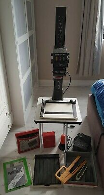 Durst Enlarger M305 Colour Darkroom Patterson safe Light Timer focus Finder Tray