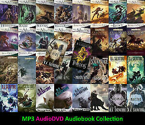 Complete R. A. Salvatore Audiobook Collection 📧 Email Delivery 📧