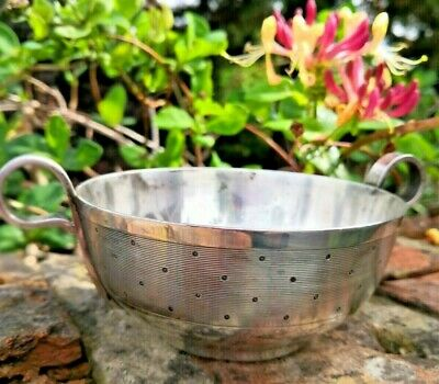 Vintage French Silver Plated Sugar Bowl