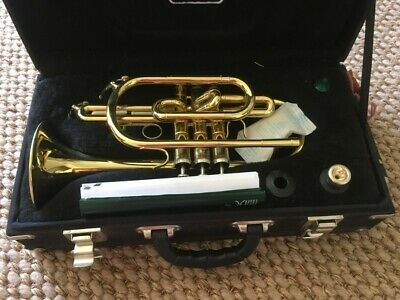 Weril Cornet, gold - used but good condition