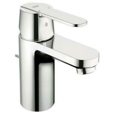 💙 GROHE® Get Basin Mixer Tap Mono Bloc Pop Up Waste Bathroom Chrome 23495000