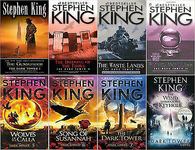 The Dark Tower Collection (Audiobook + book) By Stephen King 📧 Email Delivery📧
