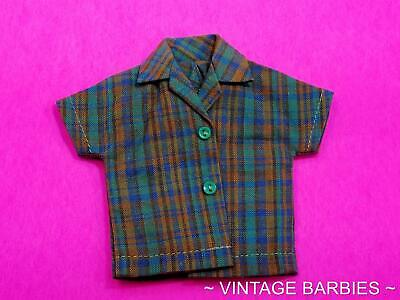 Skipper Doll Fun Time #1920 Shirt MINT ~ Vintage 1960's