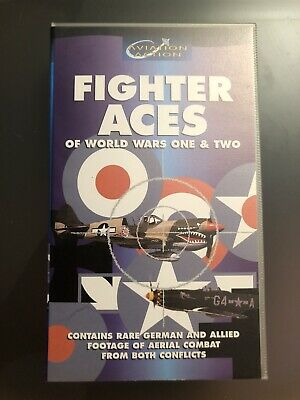 Fighter Aces of World War 1 & 2 VHS Video Retro
