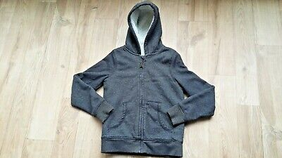 Lovely Girls Nutmeg Fleece Lined Zipped Sparkly Hooded Top 9 - 10 Years