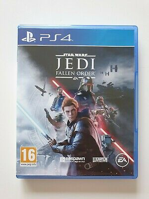 Star Wars Jedi Fallen Order (Sony PlayStation 4, 2019) PS4 Excellent condition!