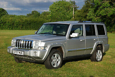 Jeep Commander 3.0 V6 diesel 7 seats great condition