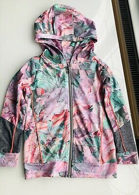 Next Sport Floral Girls Hoody, Age 4 Years