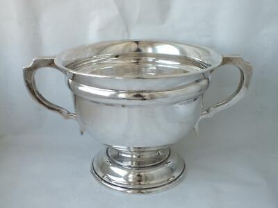 Large Antique Solid Sterling Silver 2-Handle Bowl 1911/ H 13.2 cm/ 464 g