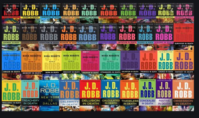 JD Robb - In Death Series 50 Audiobook Collection 📧 Email Delivery 📧