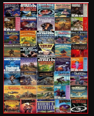 Robert A. Heinlein Series Audiobook Collection 📧 Email Delivery 📧