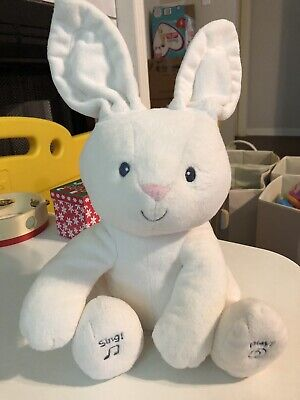 Baby GUND Flora The Bunny Animated Plush Stuffed Animal Toy 12""