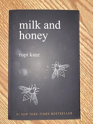 Milk and Honey by Rupi Kaur (English) Paperback Book Free Shipping!