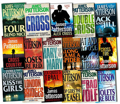 James Patterson - Alex Cross Series Audiobook Collection 📧 Email Delivery 📧