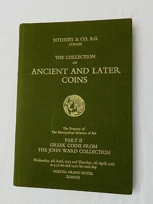 1973 Collection of Ancient and Later Coins. Part II Greek Coins.. Sotheby PRICES
