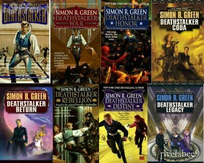 Simon R Green - Deathstalker AudioBook Collection 📧 Email Delivery 📧
