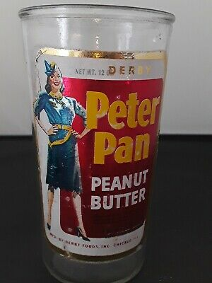 Vintage Jar of Derby Peter Pan Peanut Butter ESTATE FIND