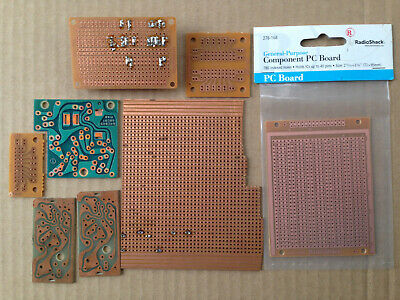 New and Used Prototyping Circuit Boards - Some Radio Shack