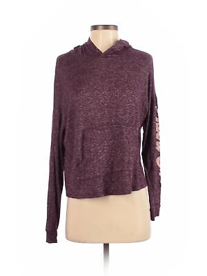 True By Rue21 Women Purple Pullover Hoodie M