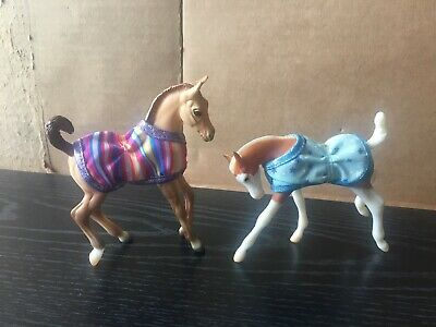 Breyer Classic 2014 Web Special Foals - Poncho and Champ