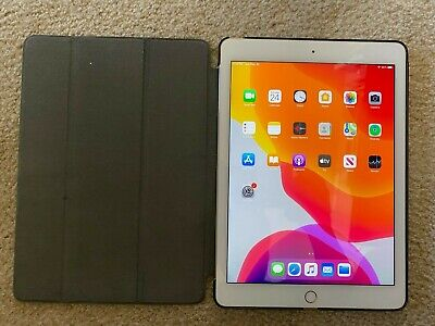 Apple iPad Air 2 64GB, Wi-Fi, 9.7in - Gold - Excellent condition + free items