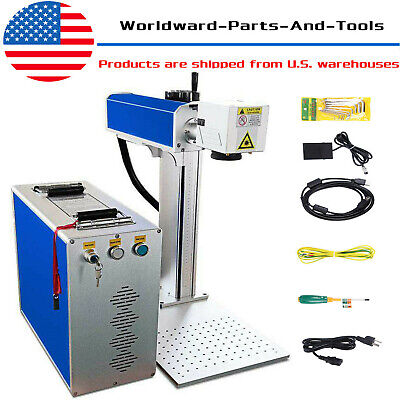 30W Fiber Laser Marking Machine Metal Engraver Engraving High Precision EzCad2