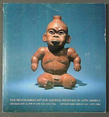 Sothebys Fine Pre-Columbian Art NY May 1979 with prices
