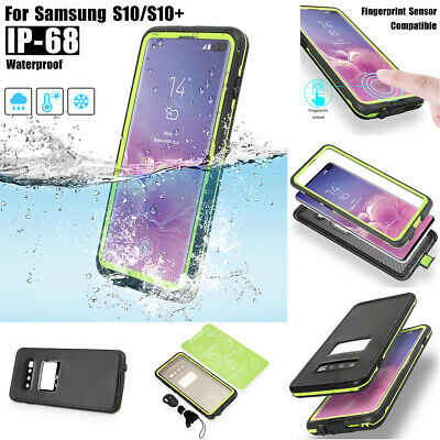 Waterproof Shockproof Tough Heavy Duty Case Cover For Samsung Galaxy S10 Plus