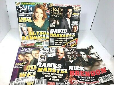 Vintage Buffy The Vampire Slayer Magazine Lot Angel
