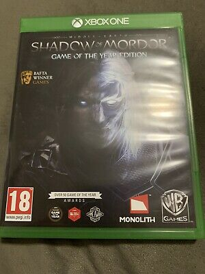 Middle-Earth: Shadow Of Mordor Game Of The Year Edition (Xbox One Game)