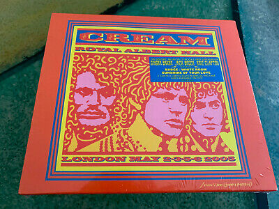 2 CD  Cream  ‎– Royal Albert Hall - London - May 2-3-5-6 2005  ((O