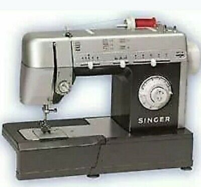 Singer CG-550 10-Stitch Commercial Grade Sewing Machine. With pedal and case.