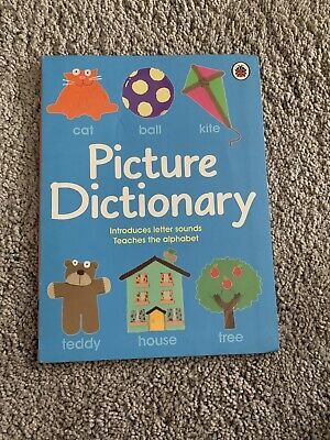 Ladybird Picture Dictionary Introduces Letter Sounds KS1 Homeschooling