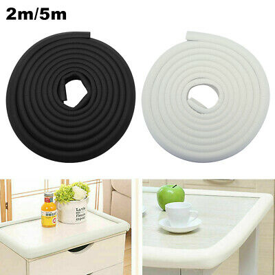 2/5M Kid Baby Safety Foam Rubber Bumper Strip Safety Table Edge Corner Protector