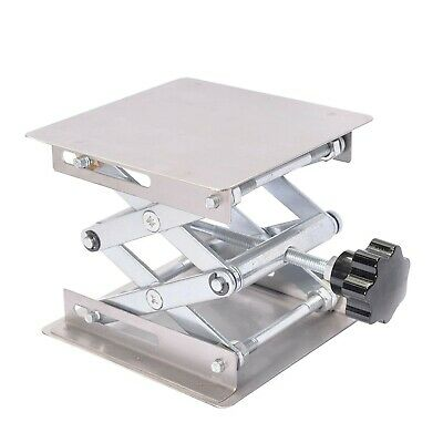 Kalolary Scientific Lab Jack-100 x 100mm Stainless Steel Lab Stand Table Rack...