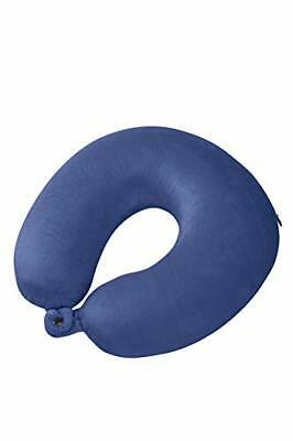 Samsonite Global Travel Accessories Memory Foam Travel Pillow, 30 cm, Blue