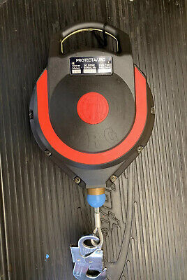 Protecta JRG 10m Auto Retract Safety Life Line Fall Arrest Fall Limiter Block